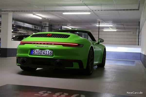 Porsche 911 Carrera 4S Cabriolet Heck