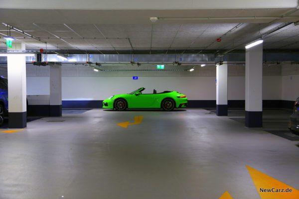 Porsche 911 Carrera 4S Cabriolet Seite