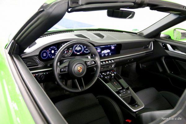 Porsche 911 Carrera 4S Cabriolet Innenraum
