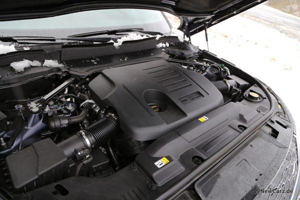 Motorraum RR Sport P400