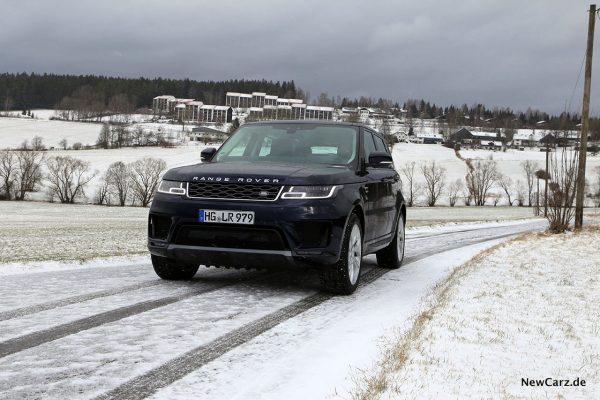 RR Sport auf Schnee