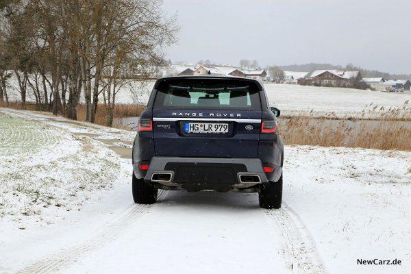 Range Rover Sport Heck