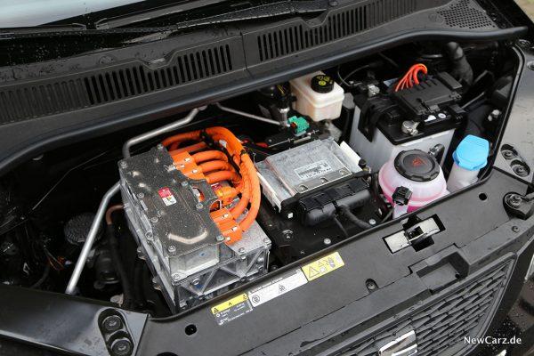 Motorraum Seat Mii electric