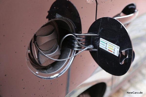 Tankdeckel Elektroauto