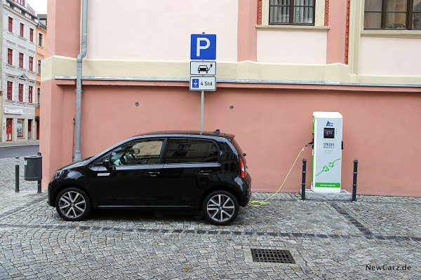 Seat Mii electric Plus beim Laden