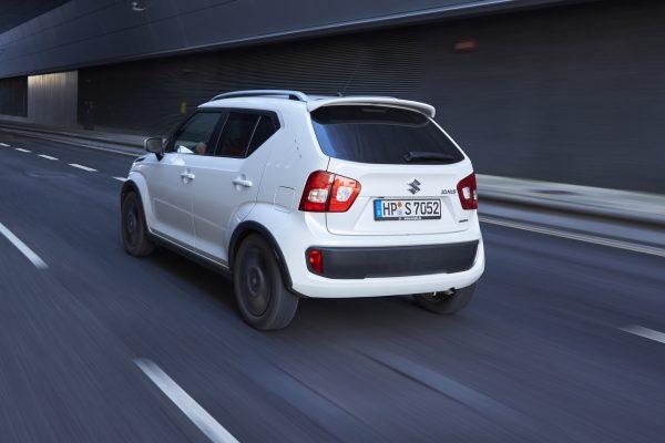 Suzuki Ignis Facelift schräg hinten