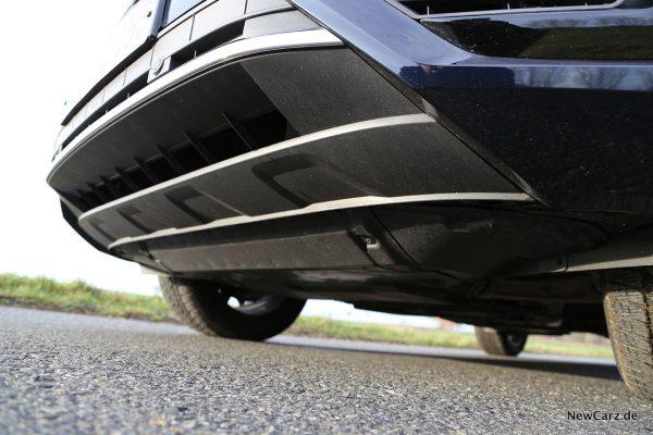 Unterfahrschutz VW Touareg