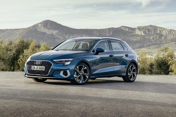 Audi A3 Sportback schräg vorne
