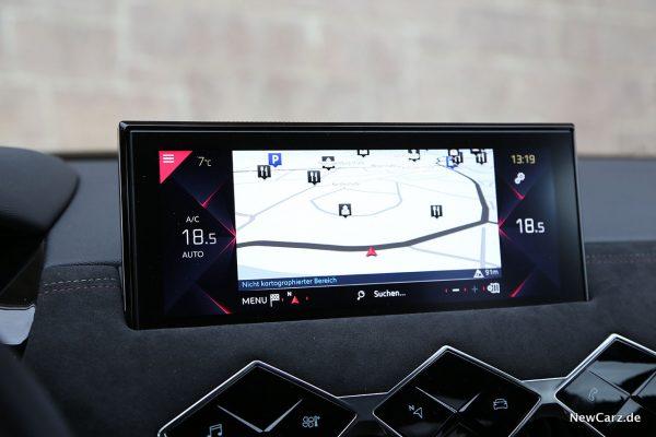 Zentralbildschirm DS Automobiles