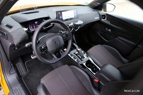 Vordersitze DS Automobiles