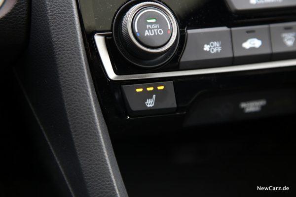 Honda Civic Diesel Sitzheizung