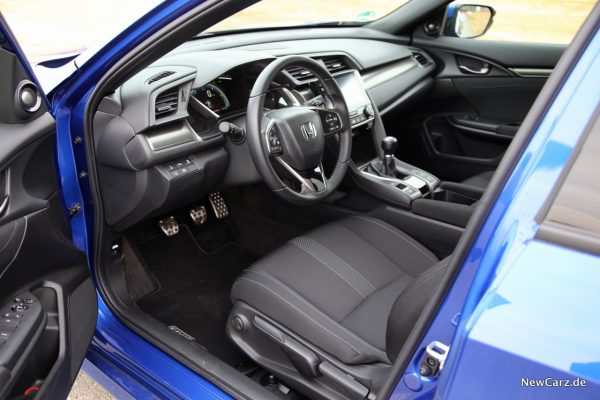 Honda Civic Diesel Innenraum