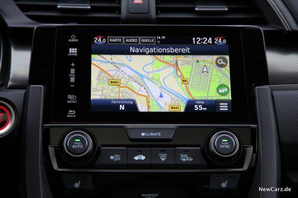 Honda Civic Diesel Infotainment