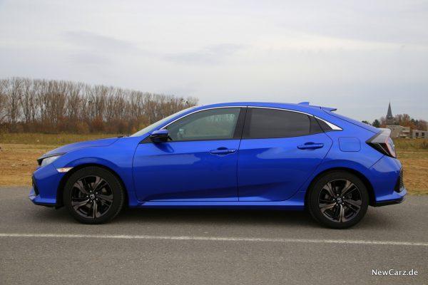 Honda Civic Diesel Seite