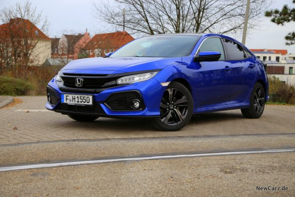 Honda Civic blau