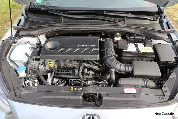 Motorraum Ceed 1.4