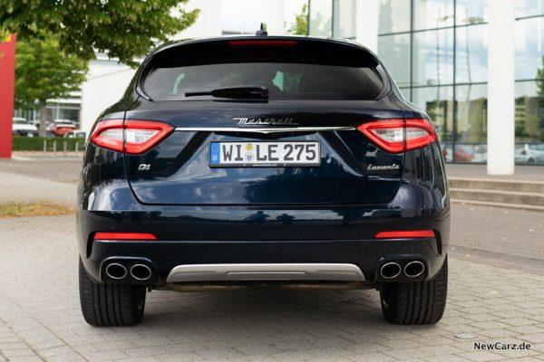 Maserati Levante Diesel Heck