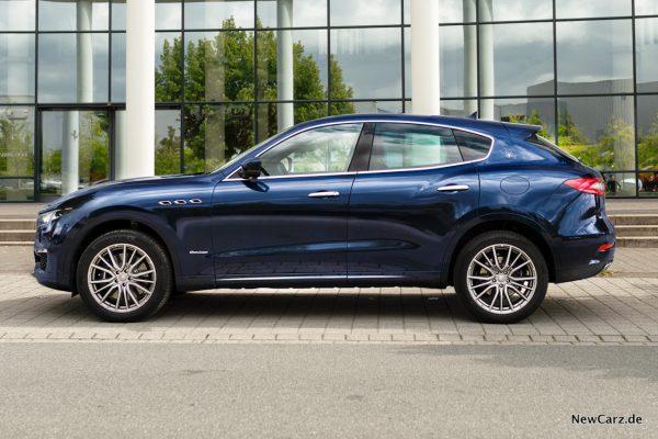 Maserati Levante Diesel Seite