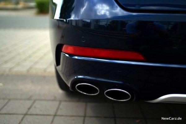Maserati Levante Diesel Endrohre