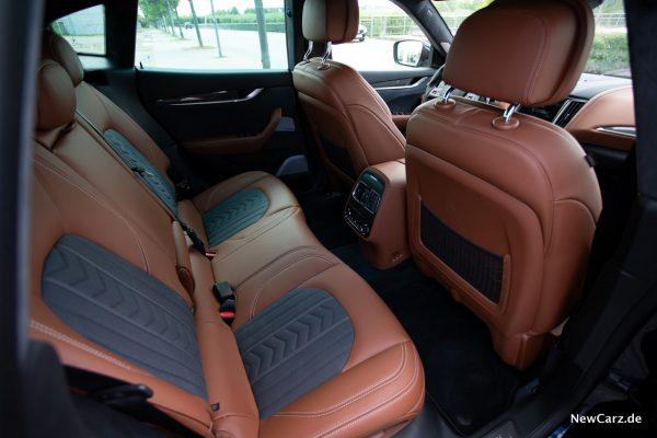 Maserati Levante Diesel Rückbank