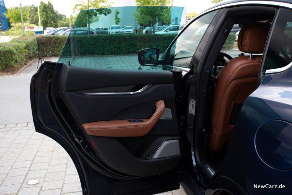 Maserati Levante Diesel rahmenlose Türen