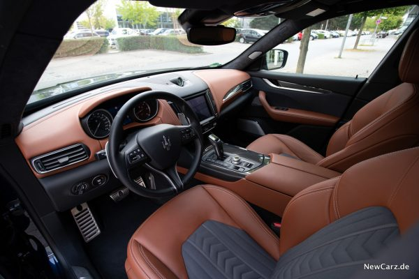 Maserati Levante Diesel Innenraum