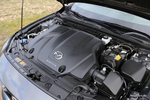 Motorraum Mazda3 Skyactiv-X