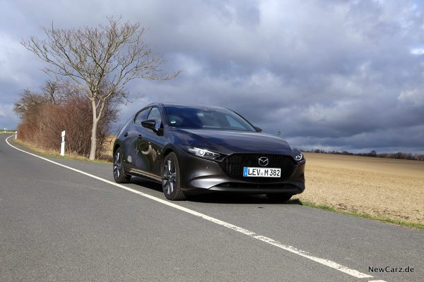 Mazda3 onroad