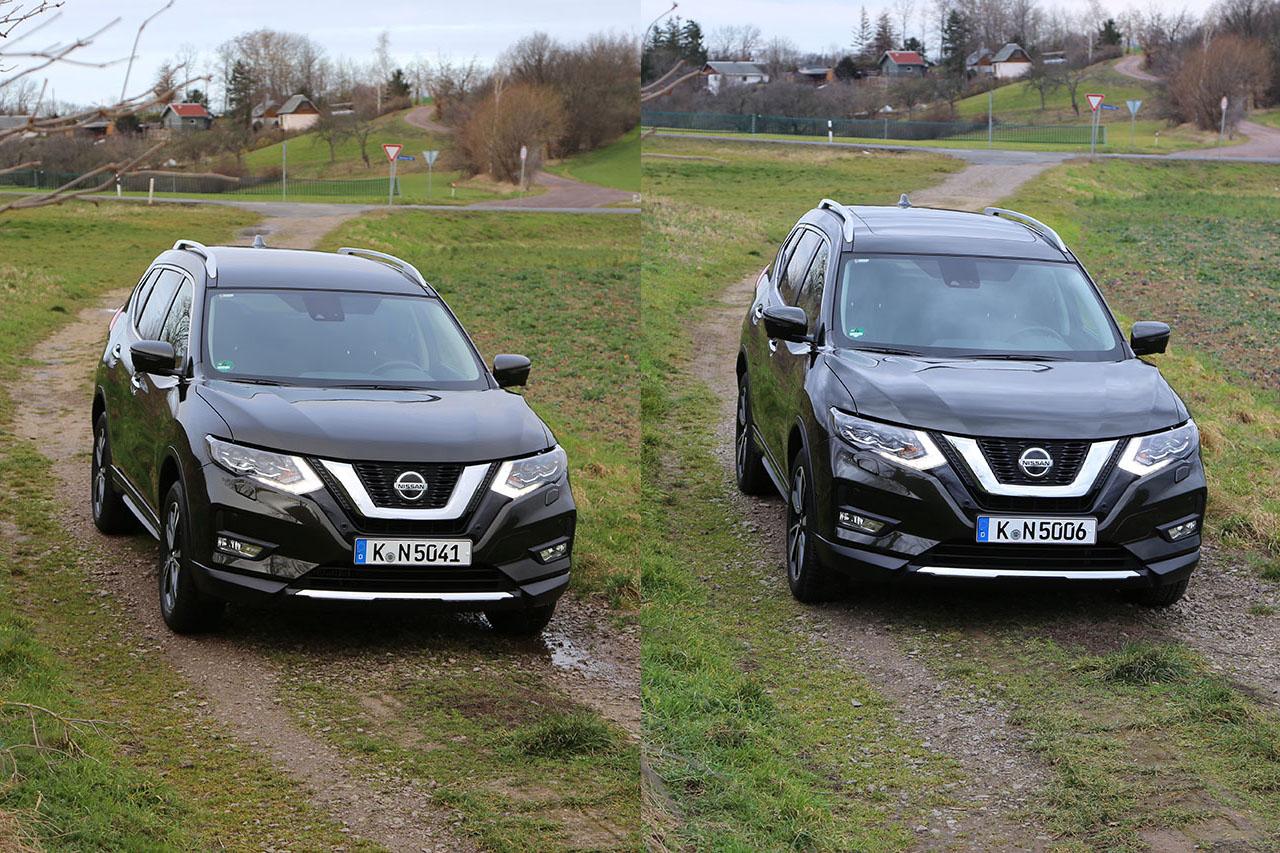 Nissan X-Trail Vergleich