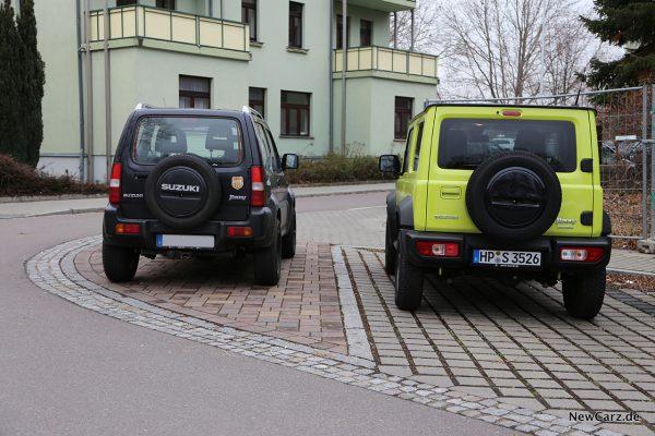 Vergleichsfoto Suzuki Jimny