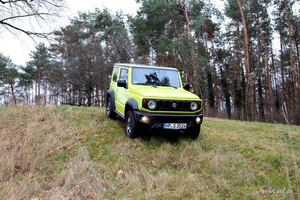 Suzuki Jimny im Gras