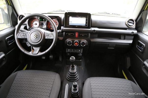 Interieur Suzuki Jimny
