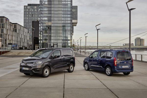 Toyota Proace City beide Varianten