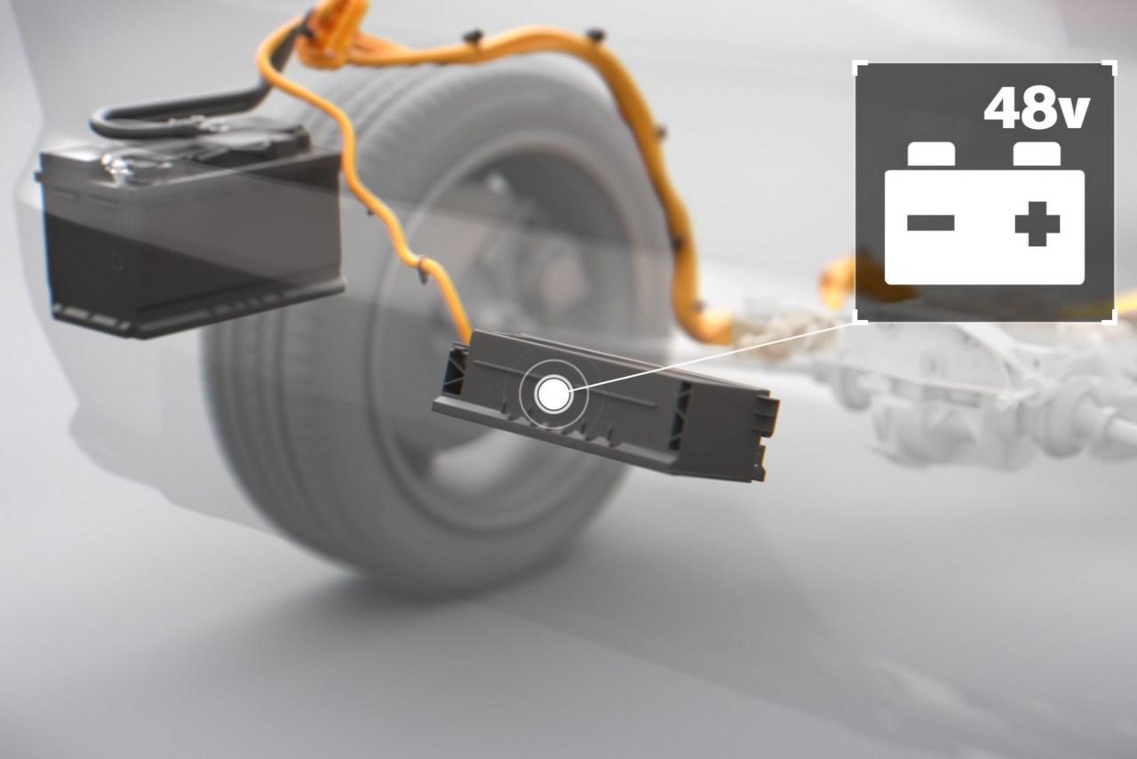 Volvo Mild Hybridsystem