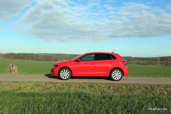 VW Polo TGI Seite