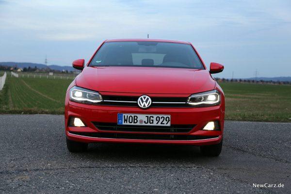 Front VW Polo TGI