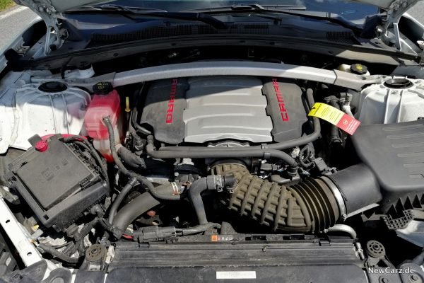 Chevrolet Camaro Cabrio V8 Motor
