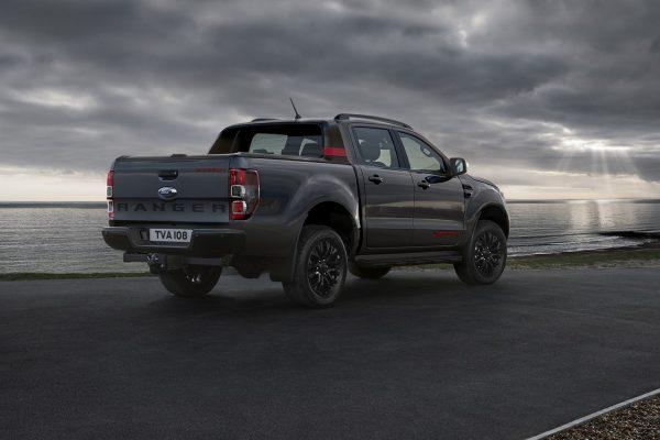 Ford Ranger Thunder schräg hinten rechts