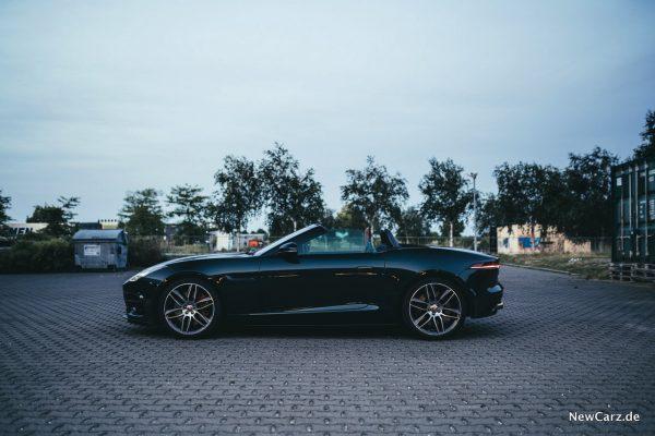 Jaguar F-Type R Verdeck offen