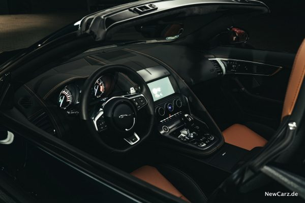 Jaguar F-Type Interieur