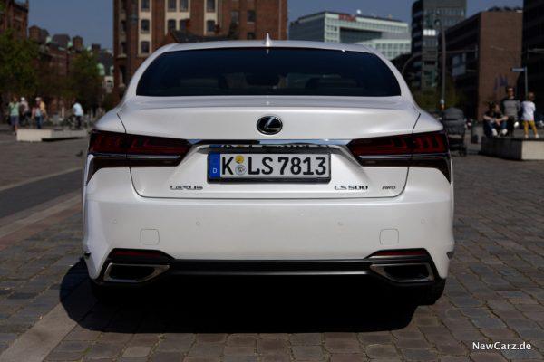 Lexus LS 500 Heck