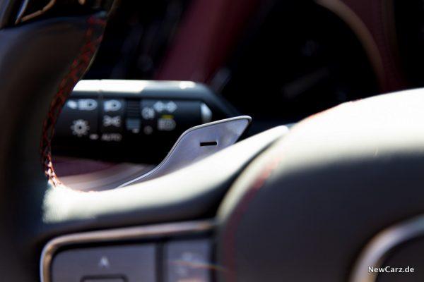 Lexus LS 500 Schaltwippen