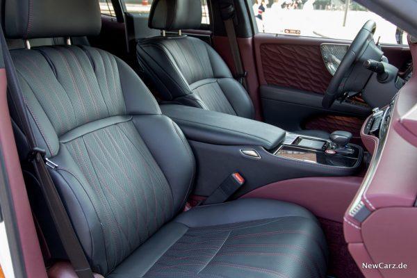 Lexus LS 500 Sitze