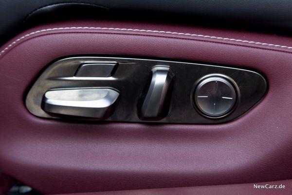 Lexus LS 500 Sitzeinstellung