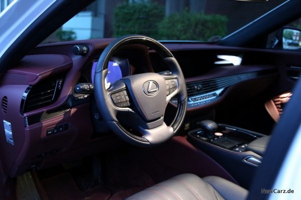 Lexus LS 500 Interieur