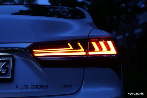 Lexus LS 500 Heckleuchten