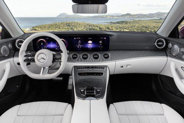 Interieur E-Klasse Cabriolet