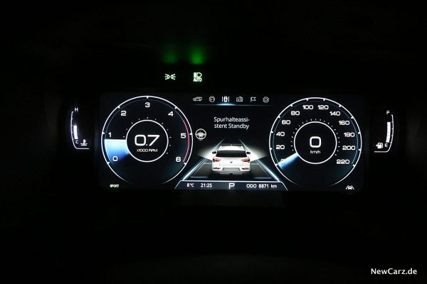 Digital Cockpit SsangYong