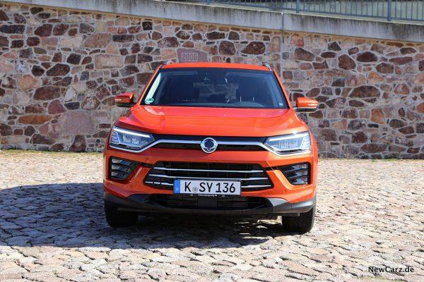 SsangYong Korando 4WD Front