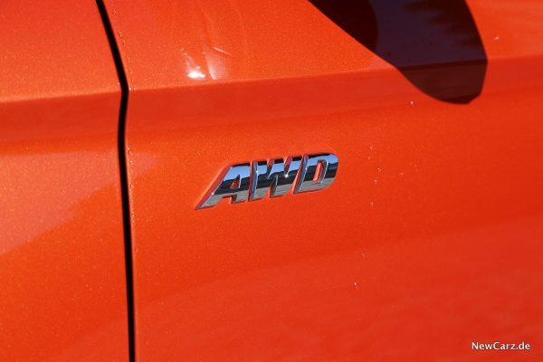 AWD-Plakette